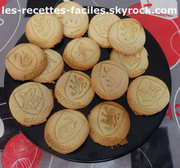 Biscuits Harry Potter !