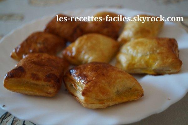~~ FEUILLETES AUX DEUX CHOCOLATS ~~