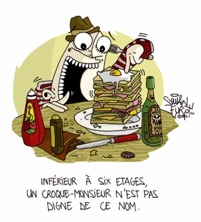~~ CROQUE MONSIEUR ~~