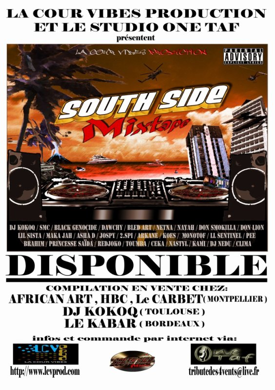 sortie de la compilation south side