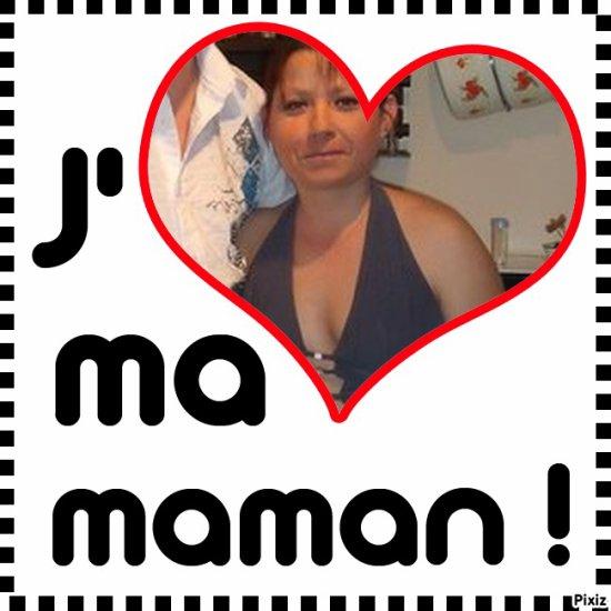 Pour Ma maman que j'aime ..<3 Un manque :'( ..<3