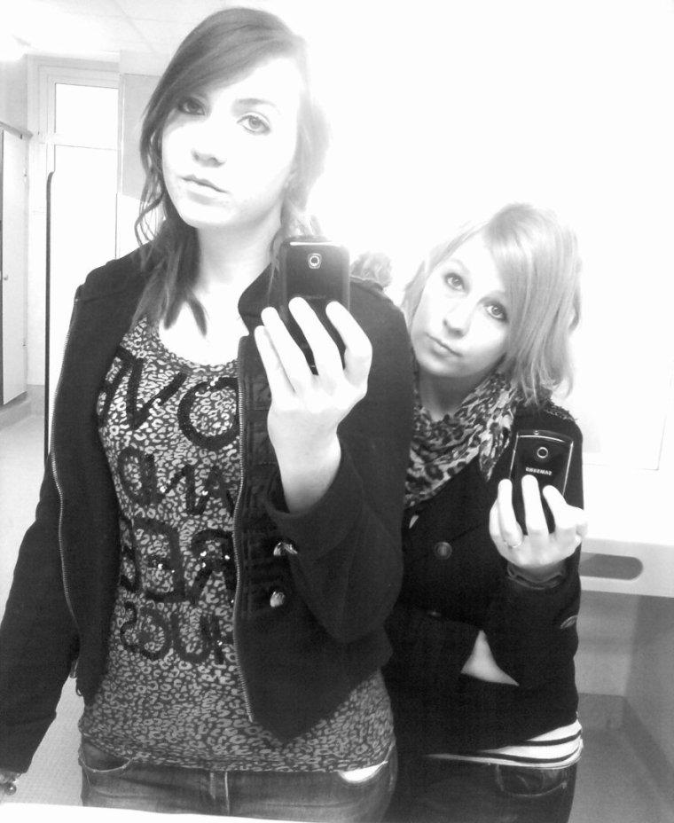 Une meilleure amie, c'est une s½ur que la vie a oublié de vous donner. ♥
