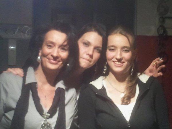 *avec mes deux filles