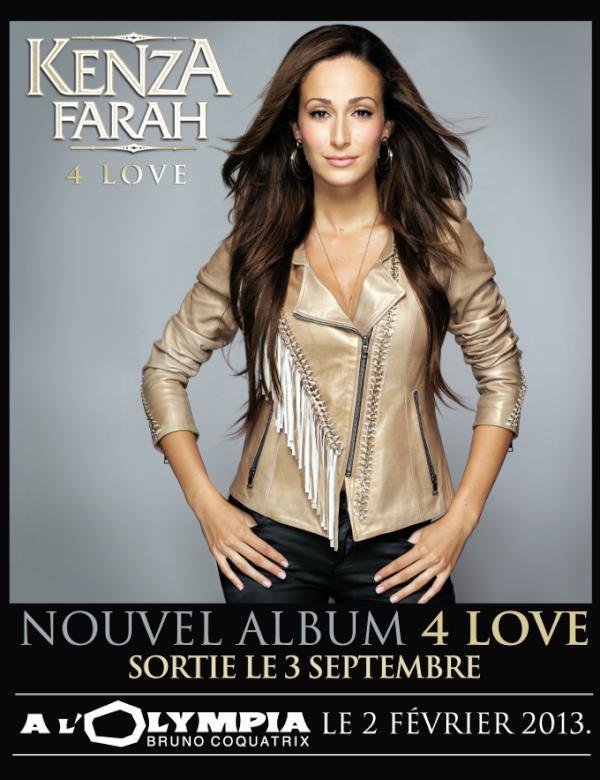 """""""4 Love """" sortira le 3 Septembre 2012"""