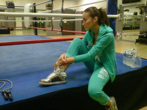 Après midi au palais des Sports, cours de Boxe Anglaise :D
