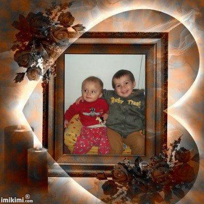 (l) c mes deux fils brandon et angelo (l)