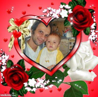 (l) mon mari et notre fils brandon (l)
