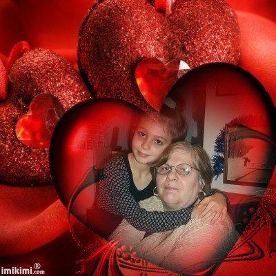 ma belle mere et sa filleule elodie (l)