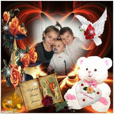 (l) mes enfants elodie angelo brandon (l)