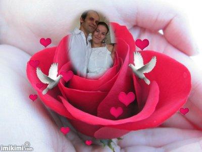 (l) moi et mon mari  a notre 1ANS DE MARIAGE (l)