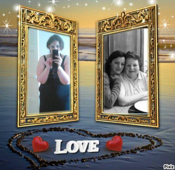 Moi,ma soeur et ma grand-mère