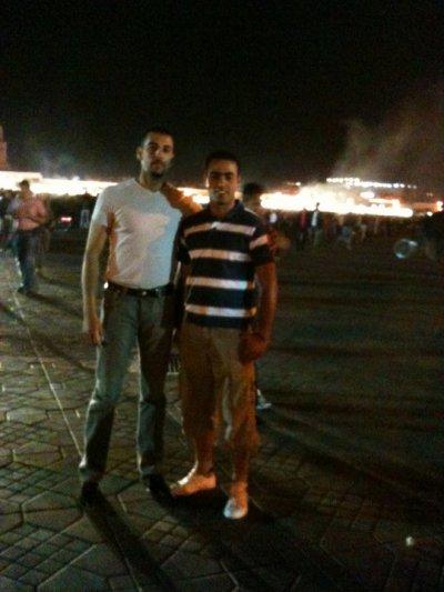 moi et mon amie smail 2010-05-16 a marakkech