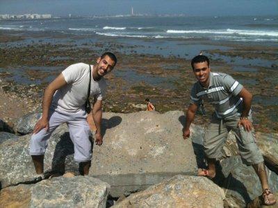 moi et samail a casa blanka 2011-05-27