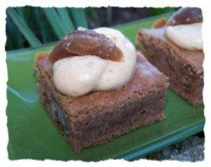 Fondant crème de marrons-chocolat