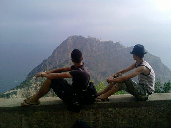 mon ami akram et  Moi!
