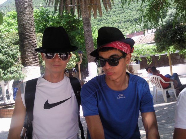 Moi et Mon cousin Mus!!!