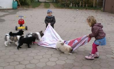 Elos mit  Kindern