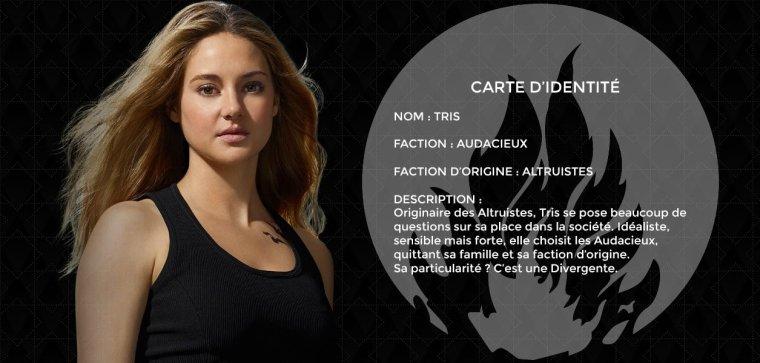 DIVERGENTE-Carte d'Identités (partie 2)