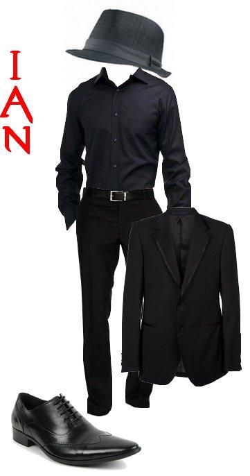Vêtement de Ian pour le chapitre 1 !