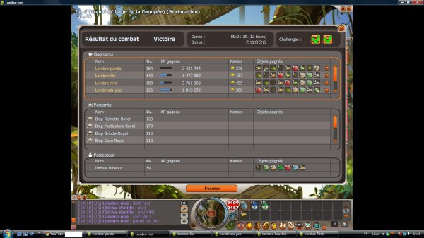 Un petit teste Multicolore Royale avec ma team 1#  + Up panda 164