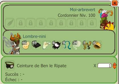 Craft item Ben + Vente enclos ( au koalak )