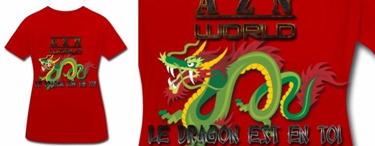 Azn world le dragon est en toi