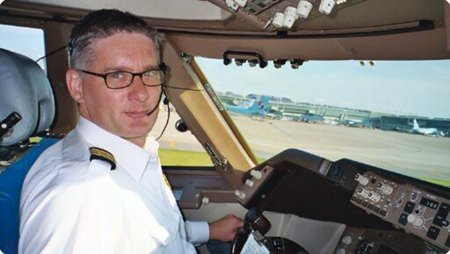 Commandant de bord: Alan Carter