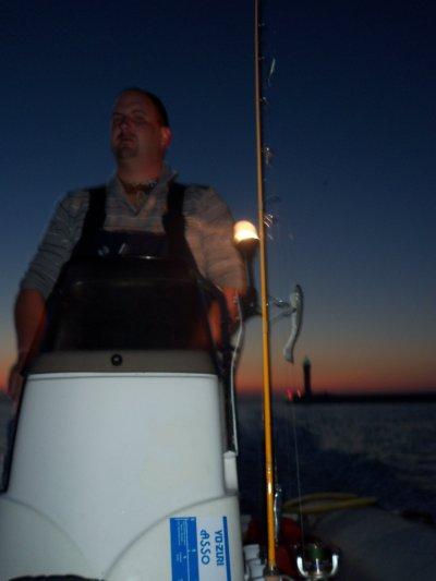 Peche avec mon pote Doun - Départ vers la zone de pêche
