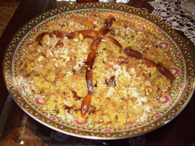 Patisserie tunisienne semoule - Cuisine tunisienne traditionnelle four ...
