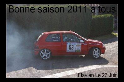 Calendrier rallye 2011