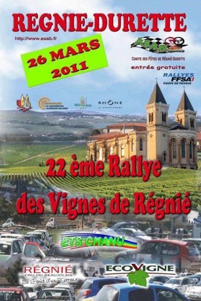 Rallye des vignes de régnié 2011