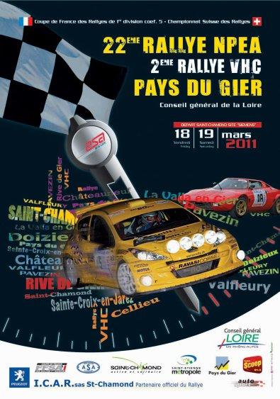 Rallye pays du gier 2011