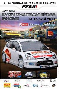 Rallye lyon charbonniere 2011
