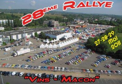 Rallye vins de macon 2011