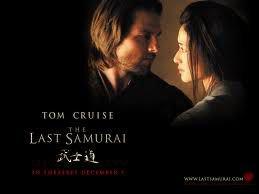 tom cruise  ;)  le dernier samouraia