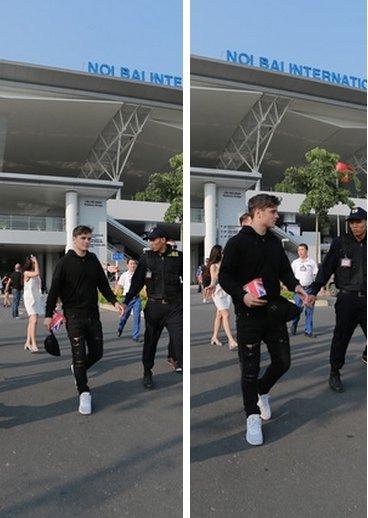 Martin Garrix était présent à l'aéroport de Noi Bai en préparation pour le concert du 18/09/16