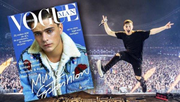 """Martin Garrix est en vedette sur la couverture du magazine """"Vogue Man"""""""
