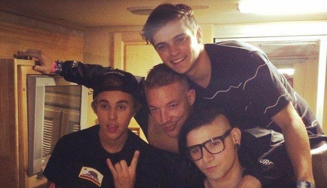 Martin Garrix en tournée avec Justin Bieber