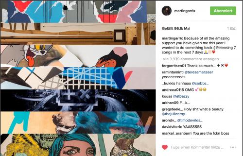 Martin Garrix publie 7 singles cette semaine