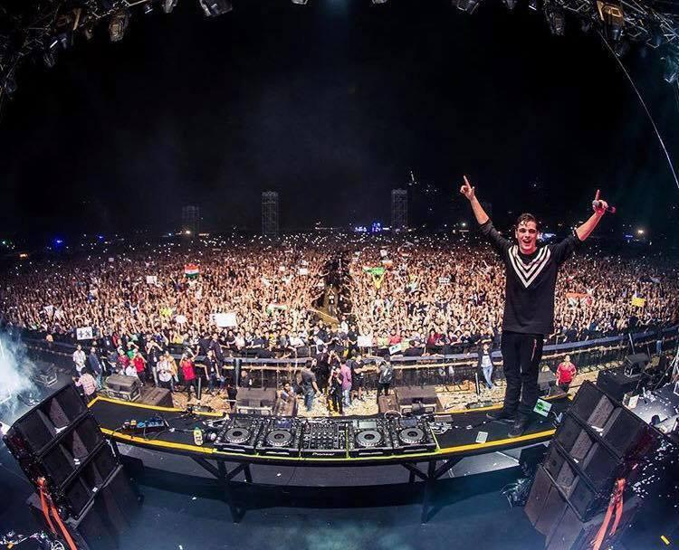 Un concert de Martin Garrix à Mumbai attire une foule de plus de 40 000 personnes