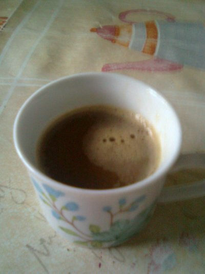 MON CAFE AU GOUT DE NOISETTE