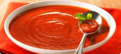 velouté de tomates au basilic