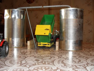 maquette de miniature agricole