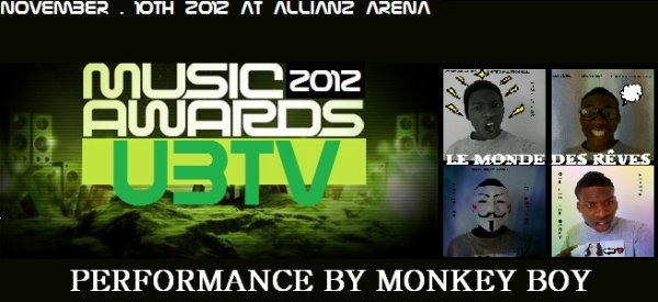 UBTV Music Awards 2012 : J-1