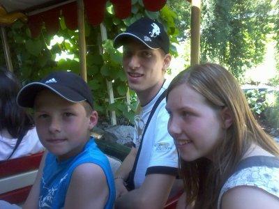 mon frere ma soeur et moi a europapark