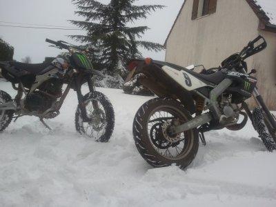 Békane dans la neige :)