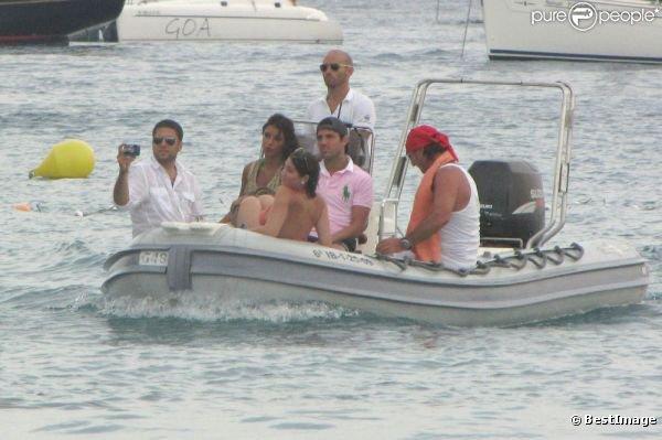 Ces parti pour une balde en bateau