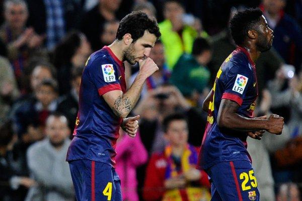 Barcelone vs Levante: Score final 1-0, les scores Cesc Fabregas tard pour donner les Blaugrana la victoire
