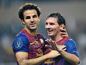 """Cesc Fabregas: """"Je vais faire de la place pour Lionel Messi"""""""