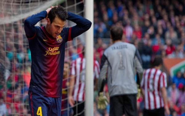 Barcelone prêt à vendre £ 35m milieu, Cesc Fabregas Retour à Arsenal cet été
